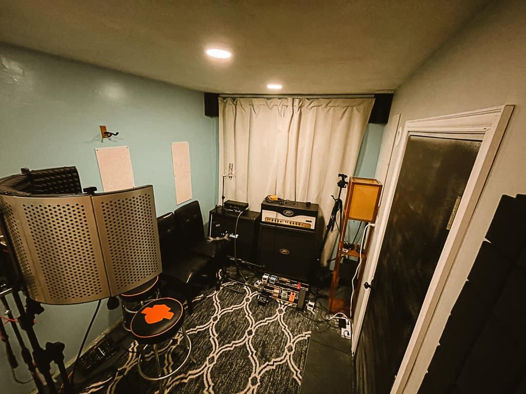 BeMelodic Recording Room in Arlington Tx