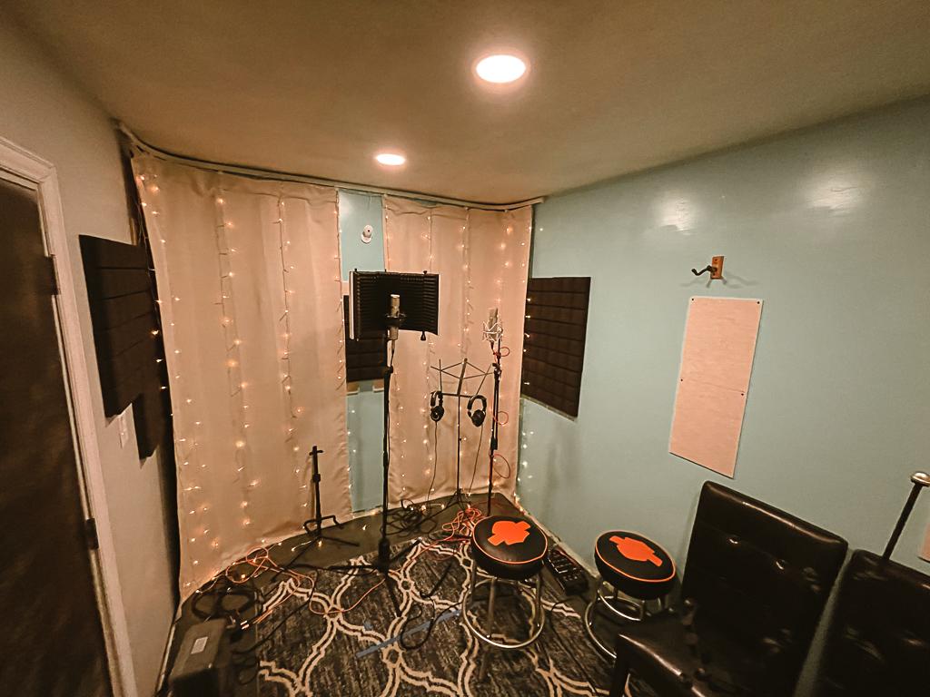Recording Studio - Tracking Room Vocals Arlington Tx
