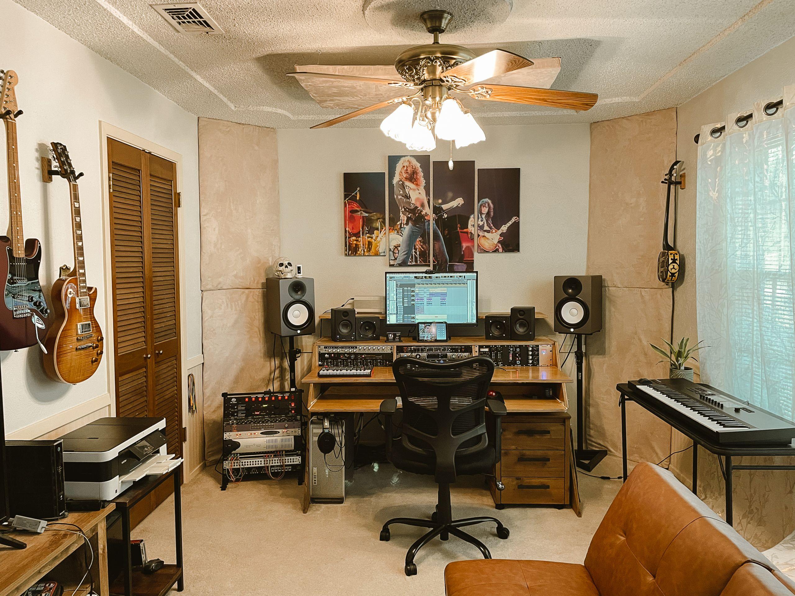 Recording Studio - Control Room in Arlington Tx